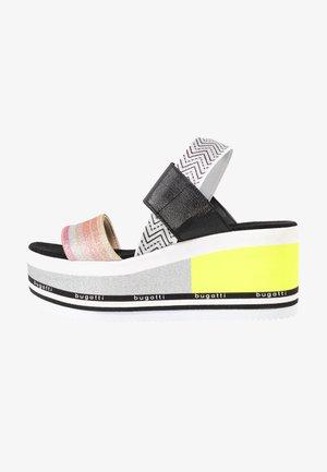 CHAI - Platform sandals - multicolour/silver