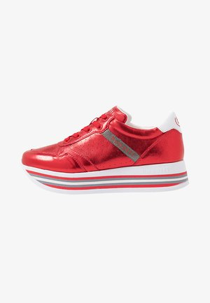 LIAN - Sneakersy niskie - red/metallics