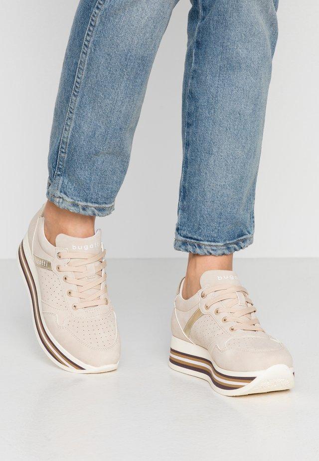LIAN - Sneaker low - beige/gold
