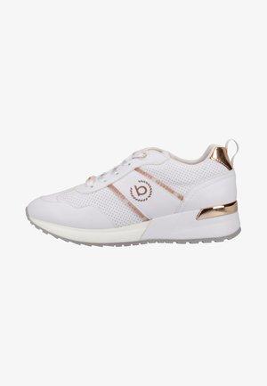Sneakers laag - white/metallics