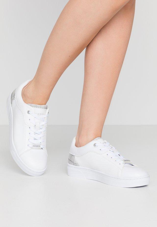 ELEA - Sneakersy niskie - white/light grey