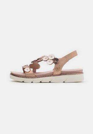 KIKO - Platform sandals - rose metallic