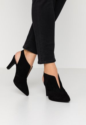 JEMILA EVO - High heeled ankle boots - black