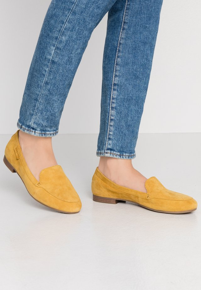 ANAMICA - Scarpe senza lacci - yellow