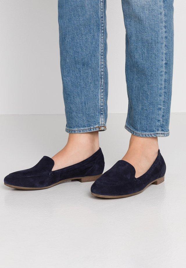 ANAMICA - Loaferit/pistokkaat - dark blue