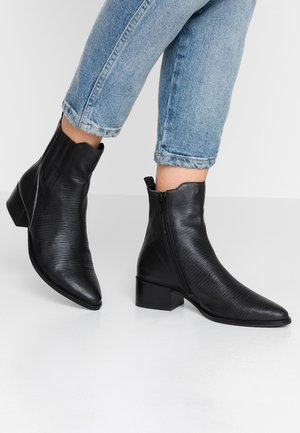 SUSANNA - Korte laarzen - black