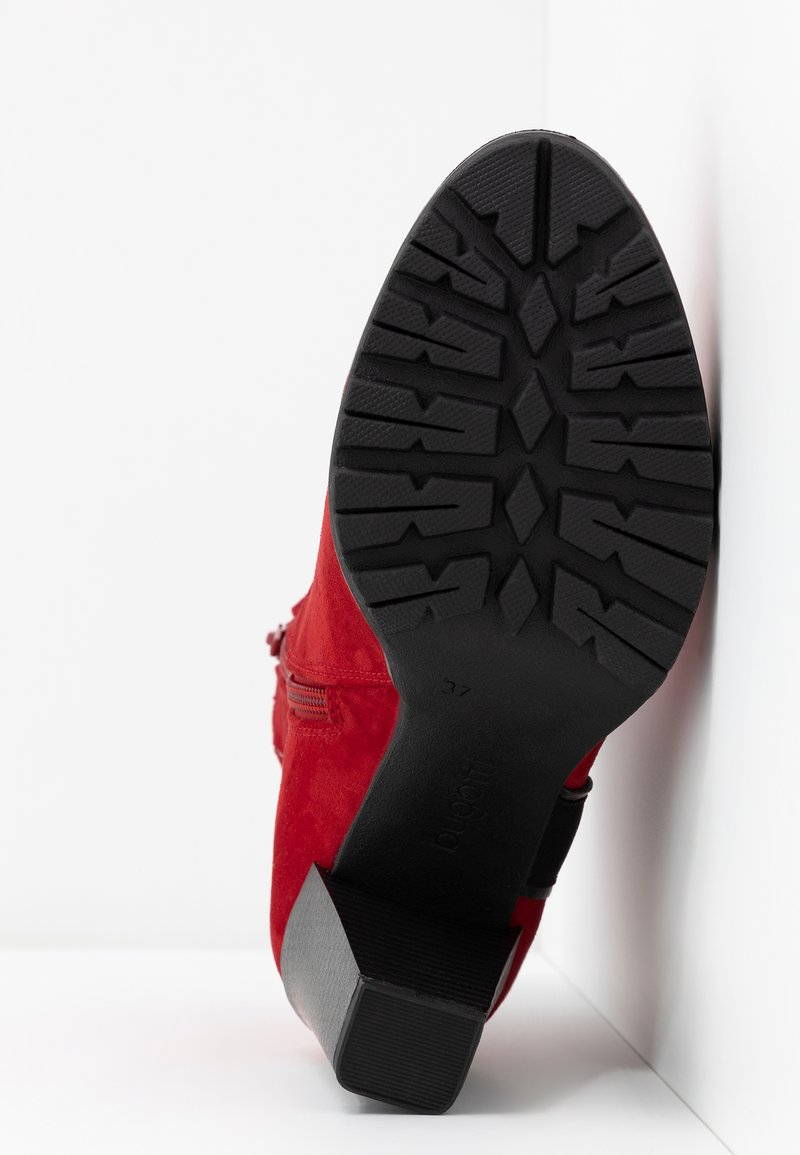 black Talons À ElenorBottines Hauts Red Bugatti XuOPZTwki