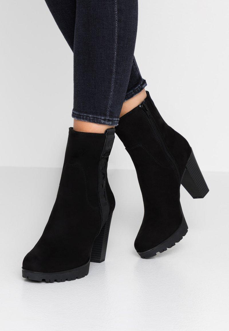 Bugatti - ELENOR - High heeled ankle boots - black
