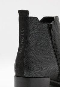 Bugatti - SUSANNA - Boots à talons - black - 2