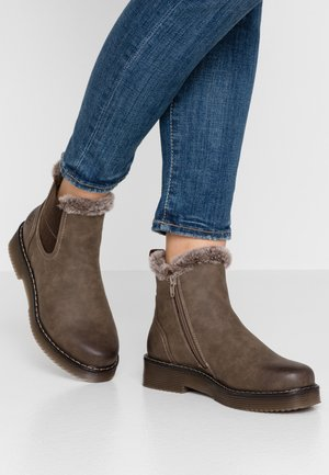 NERIA - Ankle boots - mid brown