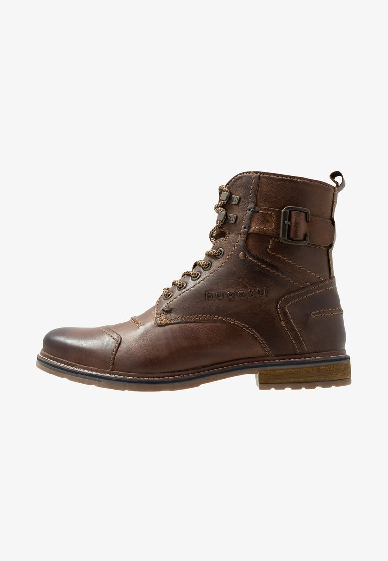 Bugatti - VANDAL - Lace-up ankle boots - dark brown