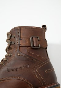 Bugatti - VANDAL - Lace-up ankle boots - dark brown - 5