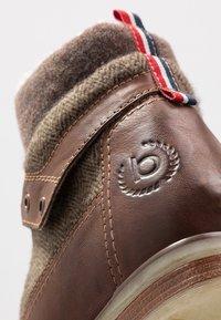 Bugatti - SUB EVO - Lace-up ankle boots - dark brown - 6