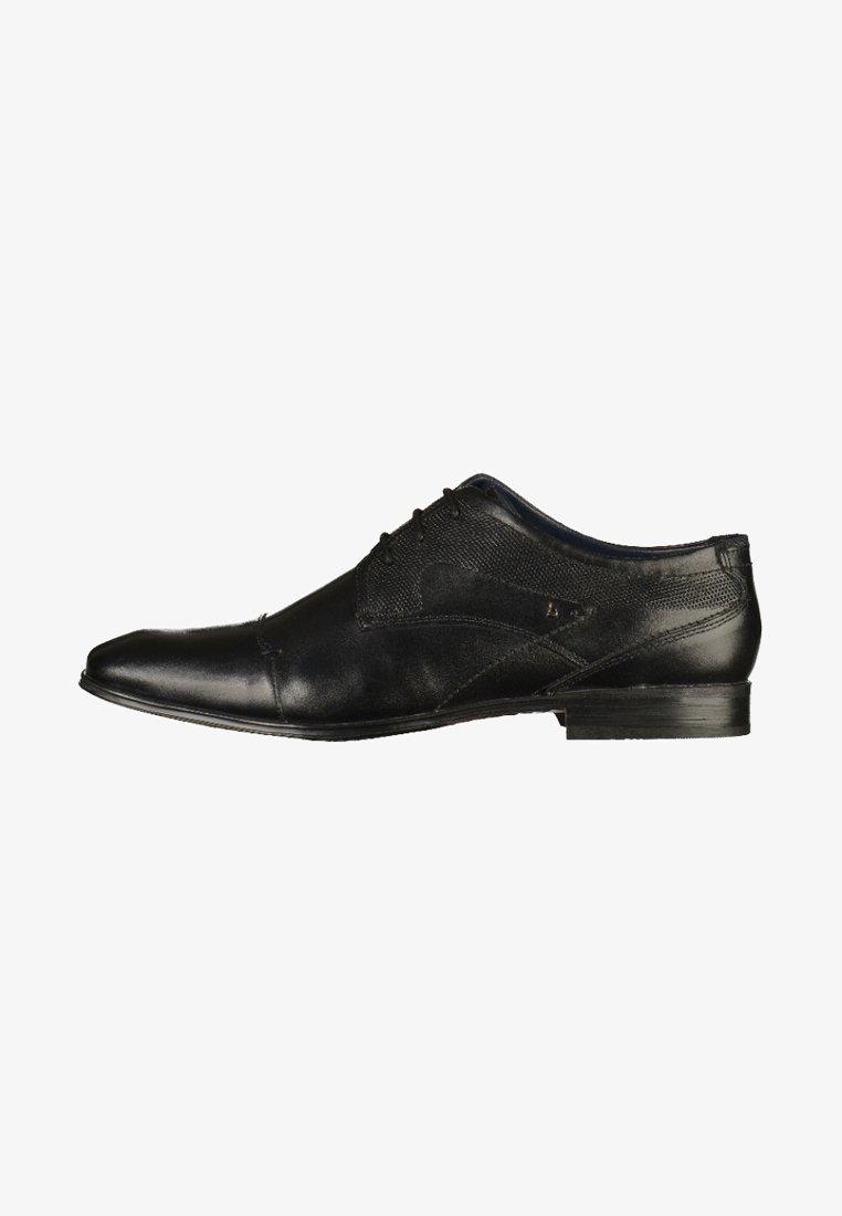 Bugatti - Elegantní šněrovací boty - black