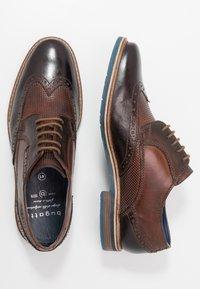 Bugatti - ADAMO - Lace-ups - dark brown/brown - 1