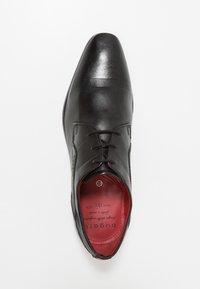 Bugatti - MORINO - Elegantní šněrovací boty - black - 1