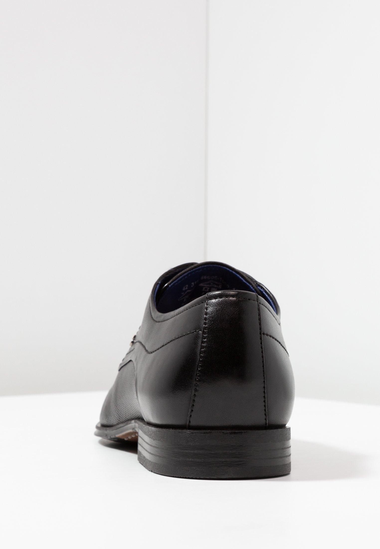 Bugatti Mattia Ii - Eleganta Snörskor Black