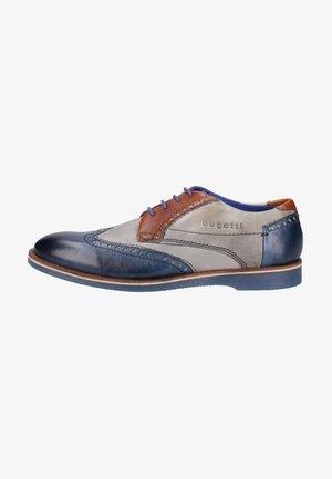 Šněrovací boty - dark blue/grey