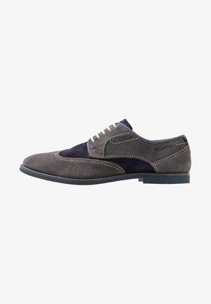FEDELE - Šněrovací boty - grey/blue