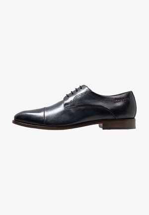 MILKO - Smart lace-ups - dark blue