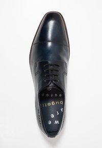 Bugatti - MILKO - Smart lace-ups - dark blue - 1