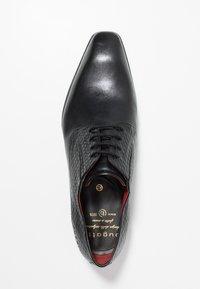 Bugatti - AURELIO - Business-Schnürer - black - 1