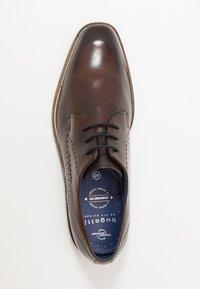 Bugatti - MILKO EXKO - Smart lace-ups - brown - 1