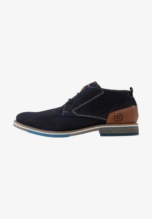 KIANO - Volnočasové šněrovací boty - dark blue
