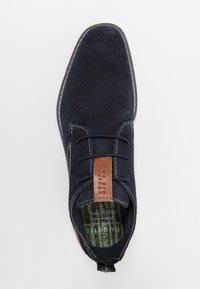 Bugatti - KIANO - Volnočasové šněrovací boty - dark blue - 1
