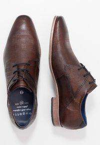 Bugatti - MORINO - Smart lace-ups - brown - 1