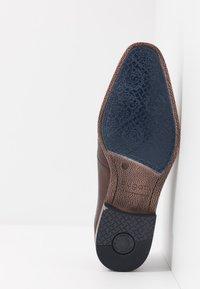 Bugatti - MORINO - Smart lace-ups - brown - 4