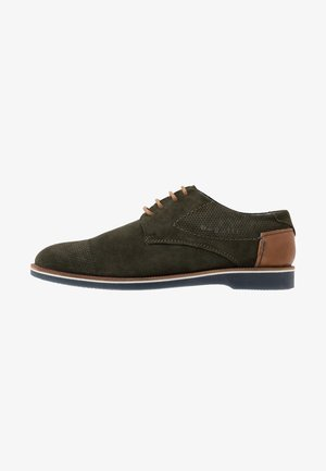 MELCHIORE - Šněrovací boty - green