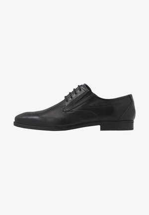 SAVIO EVO - Smart lace-ups - black