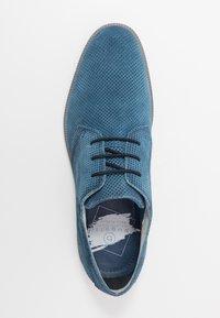 Bugatti - MELCHIORE - Eleganckie buty - blue - 1