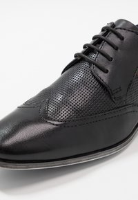 Bugatti - MORINO - Zapatos de vestir - black - 5