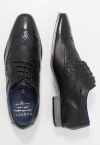 Bugatti - MORINO - Zapatos de vestir - black - 1