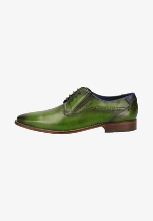Smart lace-ups - green