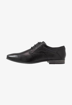 MORINO - Stringate eleganti - black