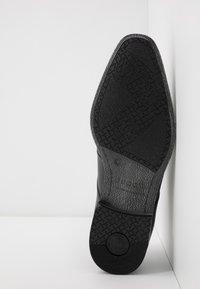 Bugatti - MORINO - Smart lace-ups - black - 4
