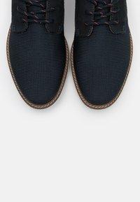 Bugatti - SIMONE COMFORT - Casual lace-ups - dark blue - 4