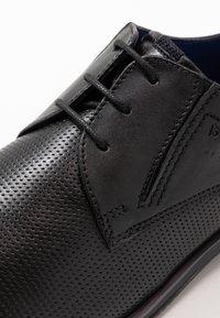 Bugatti - LUCIUS - Smart lace-ups - black - 5