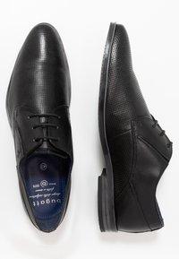 Bugatti - LUCIUS - Smart lace-ups - black - 1