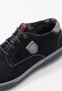 Bugatti - PRAKTIK - Casual lace-ups - dark blue - 5