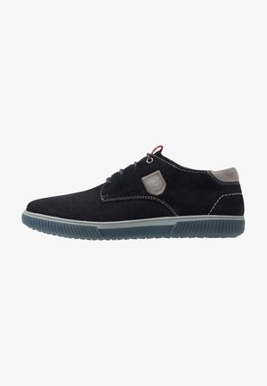 PRAKTIK - Volnočasové šněrovací boty - dark blue