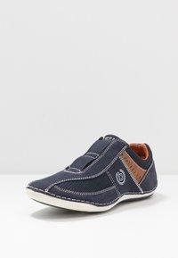 Bugatti - CANARIO - Slip-ons - dark blue - 2