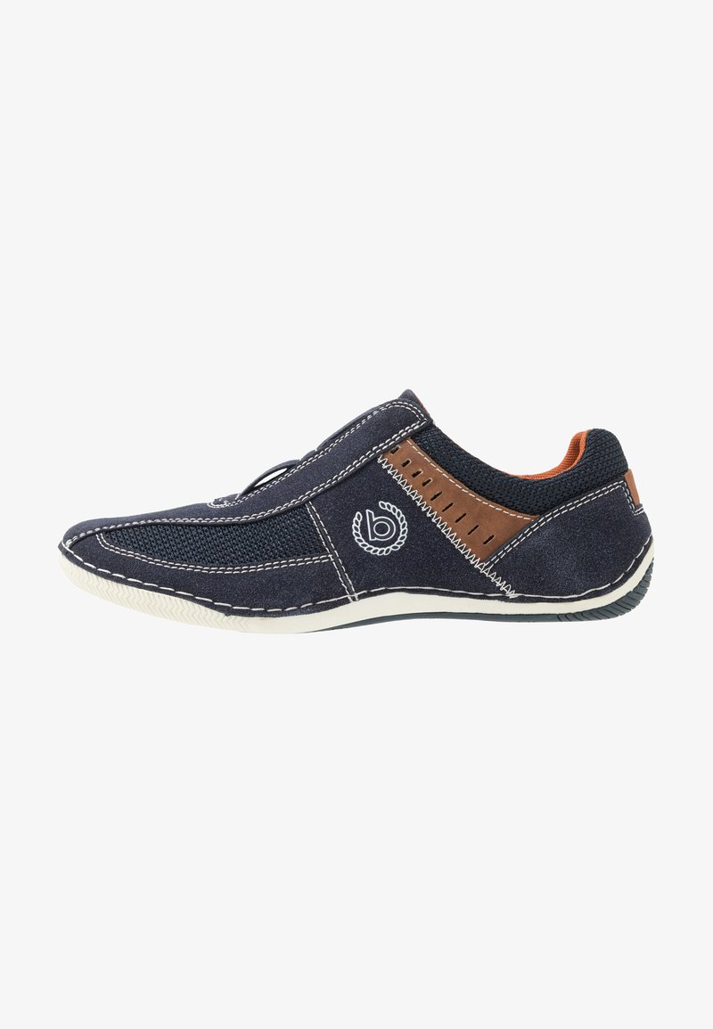 Bugatti - CANARIO - Slip-ons - dark blue