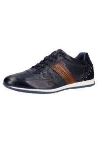 Bugatti - Trainers - dark blue/cognac - 2