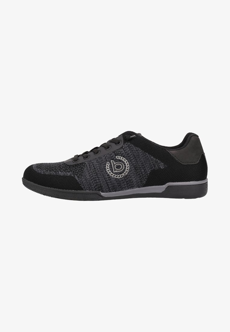 Bugatti - Trainers - black/dark grey