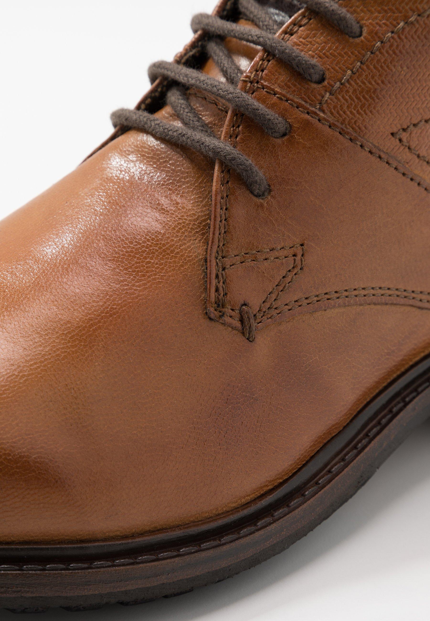 RELIAS EVO Zapatos con cordones cognac