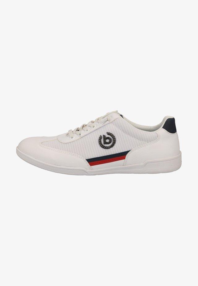 Sneakersy niskie - white/dark blue